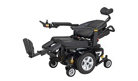 Merits Compact Multi-Function Rehab Power Wheelchair