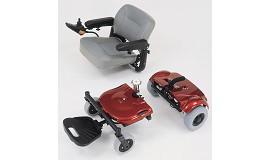 Merits Super Light Mini Portable Powerchair