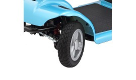 Merits 4-Wheeled Full Suspension Mini Electric Scooter