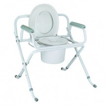 X-shape Folding Commode