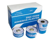 Zinc Oxide Adhesive Plaster.
