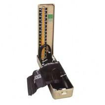 Deluxe mercurial sphygmomanometer