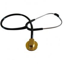Single-head cardiology stethoscope