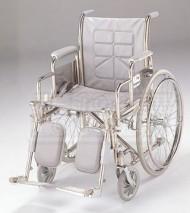 Economy Folding Commode Wheelchair