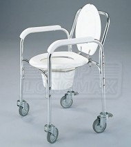 Folding Commode With Caster