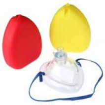 Foldable Mask + O2 Valve - Adult / Child + Hard Case