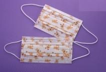3 Ply Earloop Surgical Mask with bear printing
