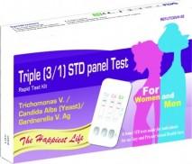 TV-CA-GV Ag Triple STD Panel Rapid Test Kit